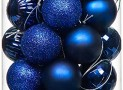Navy Ornaments for Christmas Tree