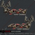 Hunting 4X4 Decals