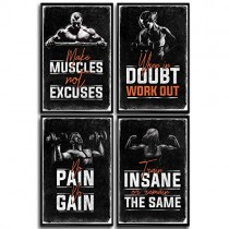 Best Fitness Posters for Gym
