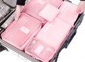 Luggage Organizer Pink