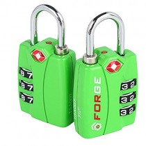 Luggage Lock Green