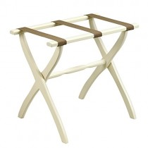 Luggage Rack Ivory