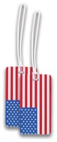Luggage Tags American Flag