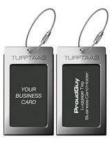 Luggage Tags Business Card Holder