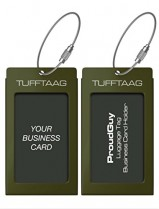 Military Luggage Tag