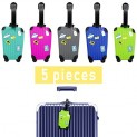 Luggage Tags 5 Pack