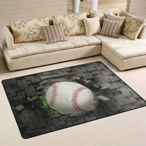 Sports 4X6 Area Rug
