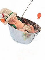 Newborn Fishing Outfit
