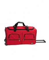 Best Luggage Duffle Bag Red