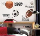 Sports Decals For Boys Room