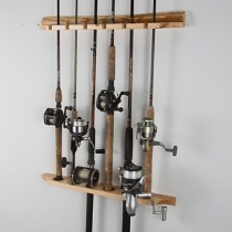 Fishing 6 Rod Racks