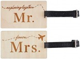Best Mr and Mrs Travel Tags
