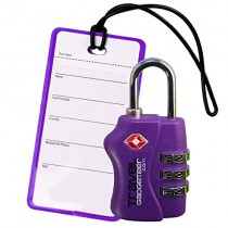 Luggage Lock And Tag
